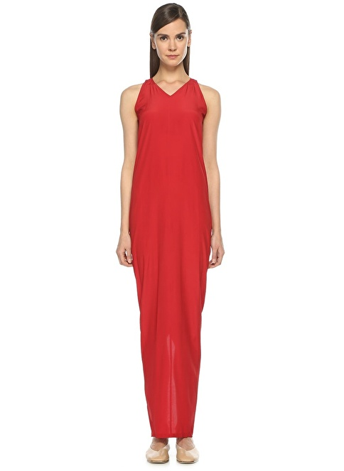 Rick Owens Elbise Kırmızı